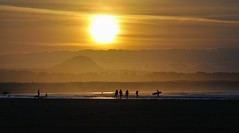 End of the day (Belhaven2011) Tags: trees light sea sky people dog seascape beach water beautiful beauty birds yellow clouds golf landscape flow photography coast scotland photo interesting sand nikon waves streak surfer seagull awesome tide hill picture explore coastal honey surfboard stunning land getty layer layers rays tidal contrejour gettyimages thesun ebb muirfield belhaven eastlothian britishopen explored northberwicklaw openchampionship 55300 muirfieldgolfcourse 55300mm nikond5000 belhaven2011 availableforlicensingongettyimages johnlawsonbelhaven