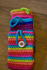 IMG_1380 (Janelle *CharisPhotography*) Tags: phone handmade crochet case dishcloth etsy coaster washcloth ereadercase