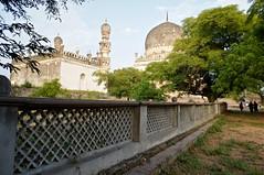 Qutub Shahi Tomb's (Rajesh_India) Tags: india monument sony hyderabad tombs qutub golconda shahi