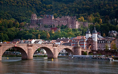 Heidelberg Schloss, The Old Bridge, and The Old Town - Heidelberg Germany (ChrisGoldNY) Tags: travel castles water architecture germany deutschland landscapes europa europe european cityscapes eu arches villages viajes german rivers posters albumcover alemania bookcover heidelberg altstadt oldtown towns vacations neckar bookcovers scapes albumcovers deutsche oldbridge heidelbergschloss heidelbergcastle chrisgoldny chrisgoldberg chrisgold chrisgoldphoto chrisgoldphotos