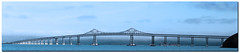 Oakland Bay Bridge... (A.J.Pendleton-Lightbox 2008) Tags: sanfrancisco bridge usa america bridgeview oaklandbaybridge blinkagain