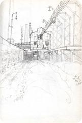 Port of Antwerp (dessinauteur) Tags: haven art illustration pencil sketch drawing sketchbook schets potlood urbansketch