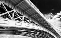 term structure (malark_) Tags: bridge 2 urban blackandwhite architecture blackwhite nikon europe hungary traffic d70 nikond70 budapest perspective 2012
