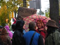 Protest - Enbridge 24/10/2012 (KashGill) Tags: our vancouver christy coast stand bc protest clark oil damage environment coastline vancity defend enbridge