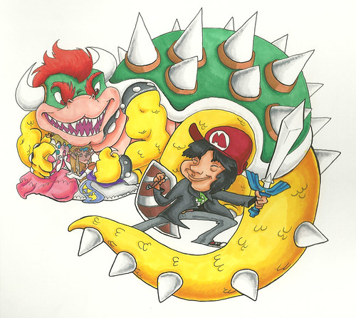 Shigeru Miyamoto, obra de RomaniZ