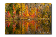 Autumn Reflections (Ethan G. Knuti) Tags: autumn reflection fall minnesota fallcolors autumncolors ely mn boundarywaters bwca stlouiscounty echotrail bwcaw superiornationalforest ethangknuti