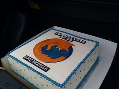 Mozilla IE10 cake (mbrubeck) Tags: cake firefox mozilla microsoft internetexplorer ie10 windows8