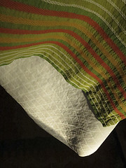 table (blairware) Tags: table squares stripes tablecloth parallel contrasts padding