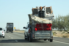 Come and listen to my story 'bout a man named Jed... (twm1340) Tags: arizona moving furniture az interstate trailer i10 overloaded