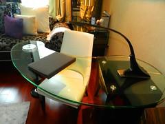 . (Prashant Nilyam) Tags: hotel bed room mumbai sofitel 5star bkc studytable