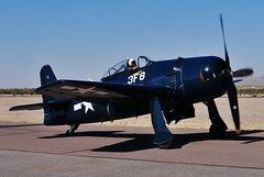 102712-176, NL9G Grumman F8F-1 Bearcat (skw9413) Tags: arizona aircraft 1442mmlens copperstateflyin