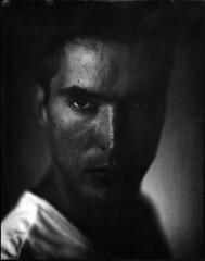 Nikola (Braca Nadezdic) Tags: portrait blackandwhite 8x10 sinar harmandirectpositivepaper harmandirectpositive