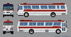 Hino RC 200P (Adrian (Guaguas de Cuba)) Tags: bus buses japan cuba habana hino rc japon omnibus fletes 日野 omnibusnacionales