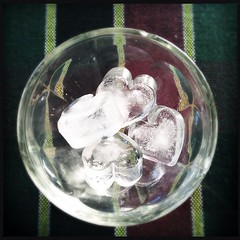 love love love. #love #ice #heart (.  .) Tags: ice cup phonecam square hearts heart squareformat iphoneography instagramapp uploaded:by=instagram iphone4s