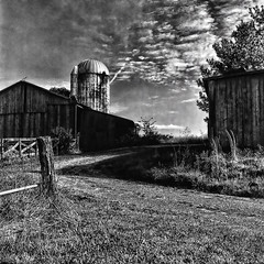 Old barn (louieliuva) Tags: blackwhitephotos