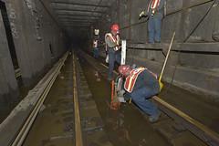 NYCT_6606 (MTAPhotos) Tags: subway sandy hurricane newyorkcitytransit hurricanesandy postsandy