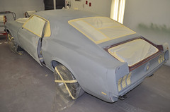 "S code 1969 Mustang Mach 1 390 4 speed Fastback Restoration Ready For Paint • <a style=""font-size:0.8em;"" href=""http://www.flickr.com/photos/85572005@N00/8150766046/"" target=""_blank"">View on Flickr</a>"