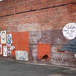 wall of graffiti near urth