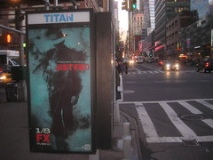 Telephone Booth Billboard Poster for Justified FX 9825 (Brechtbug) Tags: show street new york city nyc snow hat television modern booth poster for us tv cowboy gun action near telephone cable billboard crime western type series writer shooting sheriff timothy script fx leonard avenue 9th drama marshal 42nd detective givens elmore lawman justified raylan olyphant 01072013