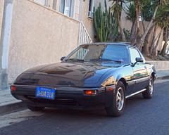 1983 Mazda RX-7, LA (vetaturfumare - thanks for 3 MILLION views!!!) Tags: cactus la losangeles palm re mazda rx7 rotary savanna wankel puts