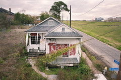 Sister and St. Claude (chris johnson.) Tags: winter abandoned photography graffiti katrina photo louisiana post sister neworleans levee chrisjohnson ninthward stclaude 2013