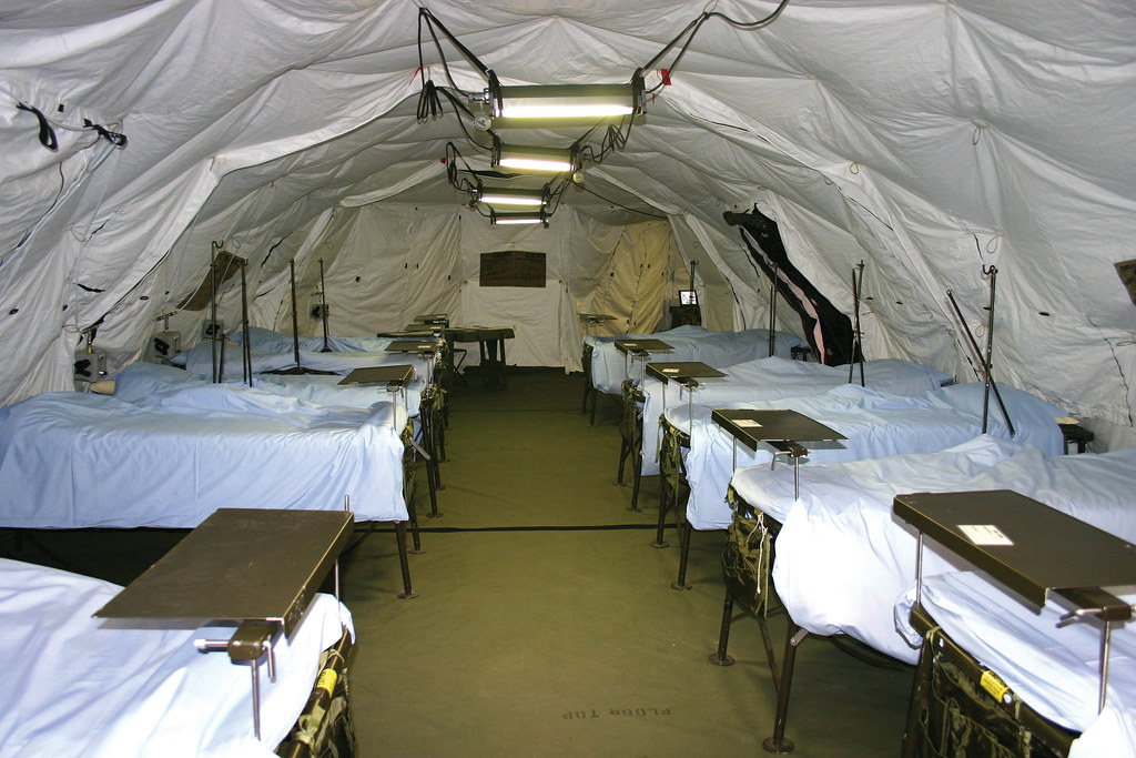 Mobile Medical Shelter : The world s best photos of drash and hospital flickr