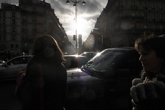 sky1 (lux fecit) Tags: sky sun paris face dark hair profile counterlight