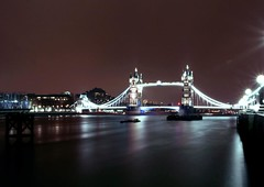 Tower bridge (laumel) Tags: city uk london night towerbridge river olympus gb themes olympuse410