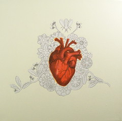 """""""One Heart A Day"""" -Series http://www.etsy.com/shop/CAUSNFX (michiejefferson) Tags: flowers tree bird nature butterfly insect heart butterflies valentine angels anatomy oddities oddity cherubs anatomicalheart medicalart"""