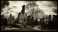 A Walk In The Park (Feldore) Tags: park new york city skyline walking skyscrapers walk sony central panoramic mchugh rx100 feldore