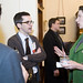 The LBJ School's Center for Politics & Governance and the Office of Alumni Affairs cosponsor a biennial networking event at the Texas State Capitol for alumni and students.