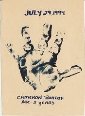 Hand Print (Jules (Instagram = @photo_vamp)) Tags: art handprint frozenintime