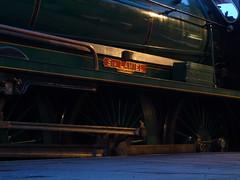 777 Sir Lamiel @ GCR (gooey_lewy) Tags: trip winter train arthur track king ride great central railway double steam southern locomotive preserved sir railways 777 gala preservation n15 footplate 460 mainline gcr lswr lamiel