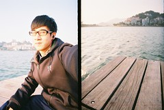 LC-Wide (Vincent Cheang) Tags: wood lake film lomo lomography iso400 nike analogue macao lcwide