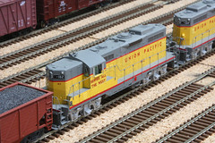 Union Pacific Wyoming Division (twm1340) Tags: railroad arizona scale up train layout model gm pacific union az wyoming ho division custom verdevalley emd gp9 2013 cornville