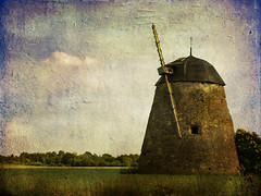 DSC09773 (Golden Pix) Tags: 2005 texture mill windmill sweden sverige gotland kvarn experimentellt vindkvarn