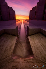 The Violet Path (Nick Chill Photography) Tags: california sunset photography industrial sandiego sony fineart lajolla spirituality spiritual enlightenment salkinstitute rumi stockimage nickchill nex7