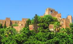Alcazaba de Málaga (twiga_swala) Tags: castle architecture andalucía spain spanish arab moorish andalusia fortress malaga alcazaba