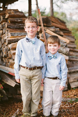 (andrewstrickland) Tags: family fall field children parents cows farm session hay calf