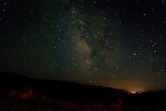 Milky Way (victorfe) Tags: usa night blurry wyoming starry noisy jacksonhole milkyway grandtetonnationalpark shadowmountain
