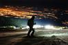 Vitosha ski over Sofia city (.:: Maya ::.) Tags: ski night sofia bulgaria vitosha българия софия витоша нощ ски mayaeye mayakarkalicheva маякъркаличева