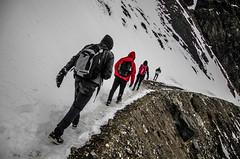 Descenso (ANDYFOTEIKER) Tags: embalse el yeso cajon del maipo sergio mella region metropolitana santiago chile turismo nieve montaa viajes