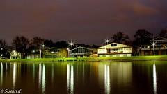 Reflections by Yarra River (koaysusan) Tags: starlights longexposure yarrariver nightshot lights reflections riverside outdoor water