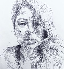 vanessa mercado (mariah...) Tags: jkpp ink portraitdrawing