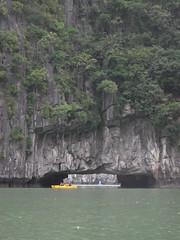 DSCF4831 (vbolinius) Tags: 2016 annike cave gerard halongbay islands kayak ocean travel vietnam