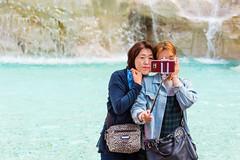 Here's my favorite subject (robertofaccenda.it) Tags: arte fontanaditrevi holydays italia lacitteterna lazio monument monumento roma rome selfie travel trip vacanze vacation viaggi