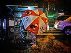 Big rains call for big umbrellas... #saigon #hcmc #vietnam #ig_vietnam #everydayvietnam #everydayasia #guardiantravelsnaps #triipme #dailylife #streetscene #street #people #umbrella #red #weather #wet #rain (genochio) Tags: saigon vietnam hcmc