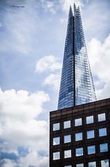 """The Shard."" (Dario Gazzitano - Photography) Tags: theshardlondon theshard london uk england architecture geometric building glass iron sky skyscraper londra europe"