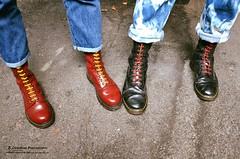 Skinhead Boots (Scally Skin - Love skins Love Scally) Tags: skinheadboots drmartenboots skinhead skinheads
