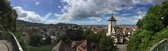 Freiburg Panorama (Klemens Maier) Tags: freiburg breisgau schlossberg schwabentor greiffeneggschlssle schnberg wiehre altstadt vogesen frankreich tuniberg oberrhein rheinebene schwarzwald kaiserstuhl panorama oberau